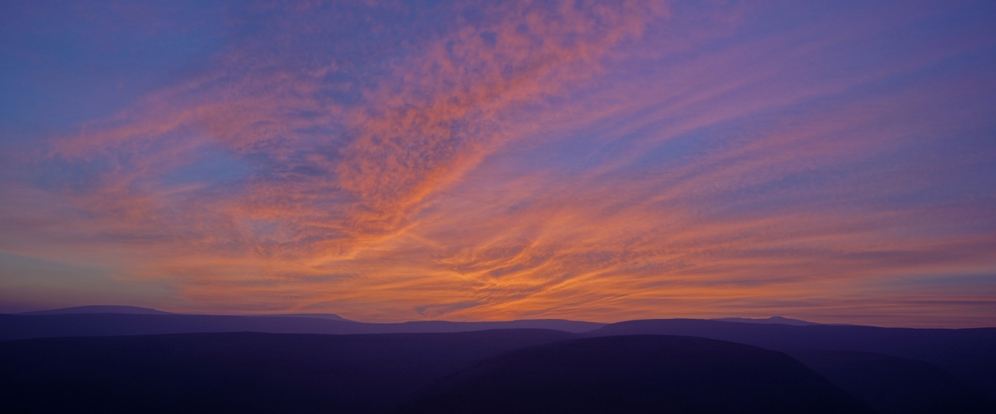 Kieran Rae Offa Offas Dyke Wales Sunset Sky