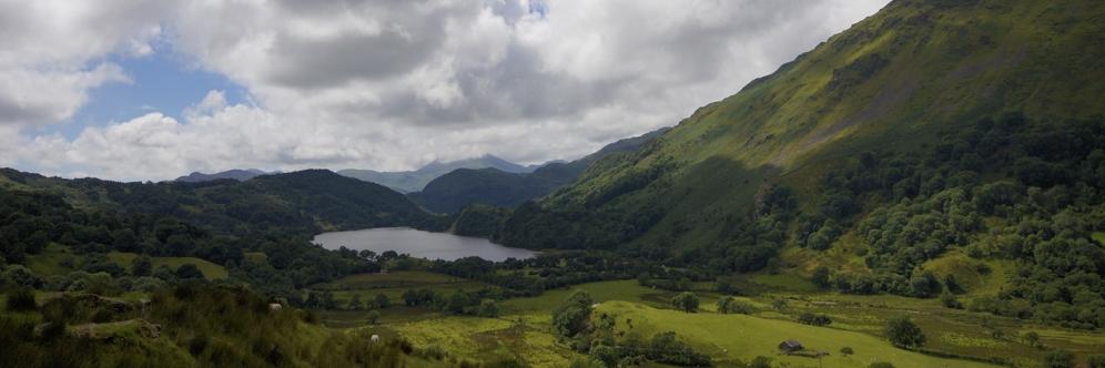 Kieran Rae Llyn Gwynant Snowdon Snowdonia Wales