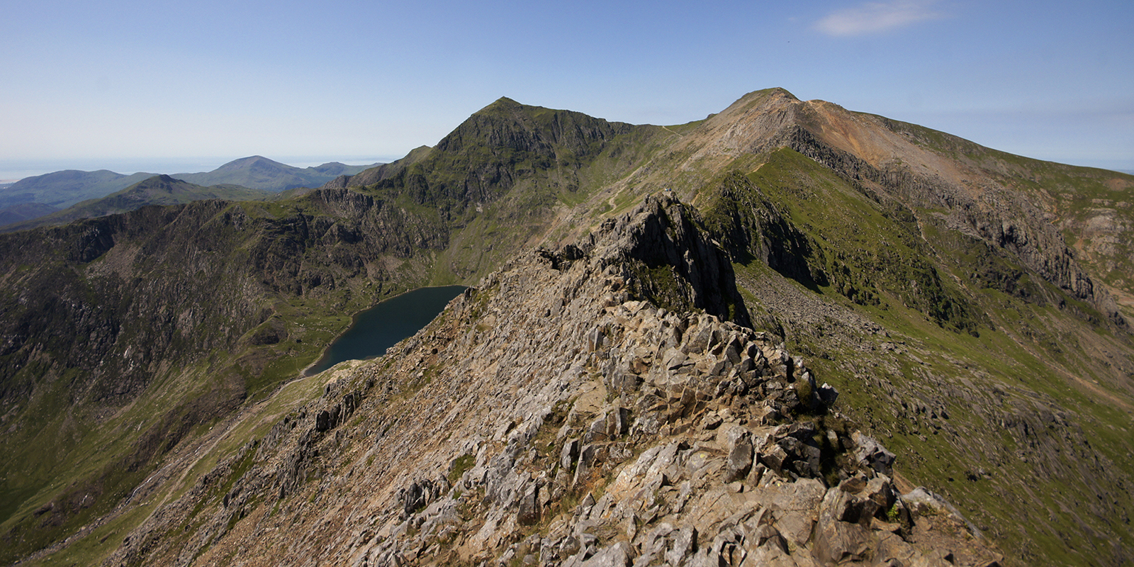 Kieran Rae Crib Goch Ridge Snowdon Snowdonia Wales