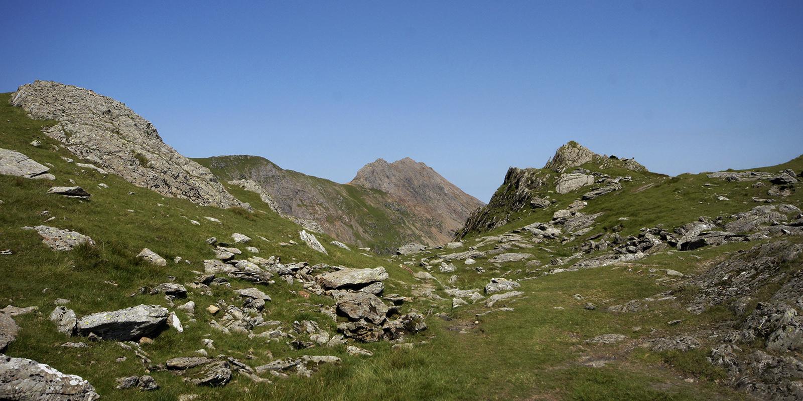 Kieran Rae Snowdon Snowdonia Wales Watkin Path