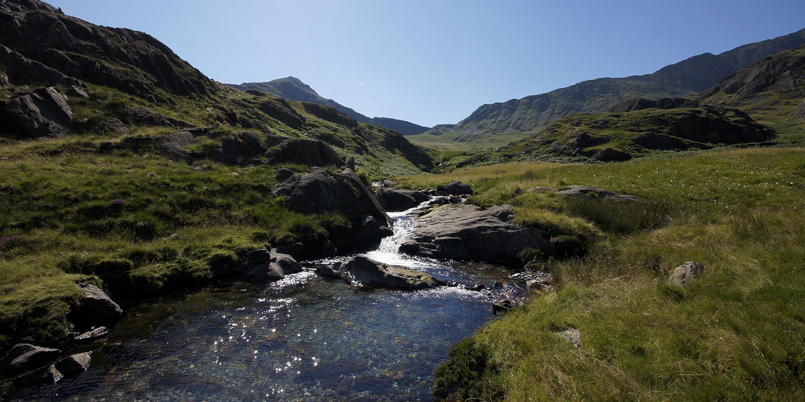 Kieran Rae Snowdon Snowdonia Wales Watkin Path Waterfall