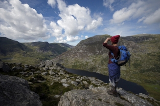Kieran Rae Tryfan Glyderau Glyder Ogwen Valley Snowdonia Wales Portrait