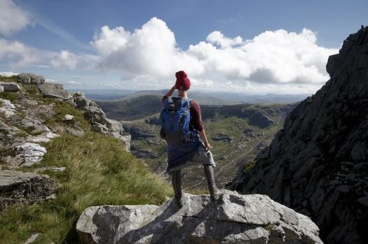 Kieran Rae Tryfan Glyderau Glyder Snowdonia Wales Portrait