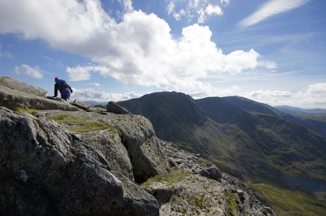 Kieran Rae Tryfan Glyderau Glyder Snowdonia Wales