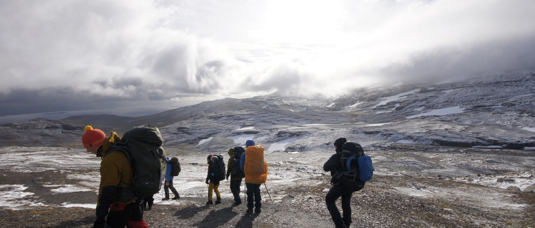 Kieran Rae Abisko Sweden Lapland Hike