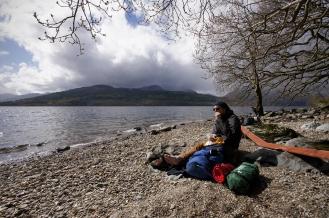 Kieran Rae West Highland Way Loch Lomand Scotland