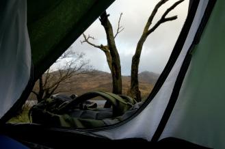 Kieran Rae West Highland Way Camping Scotland