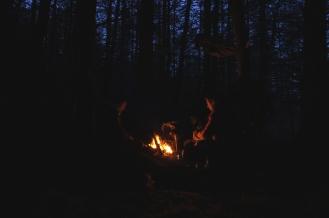 Kieran Rae West Highland Way Campfire Camping Fire Scotland