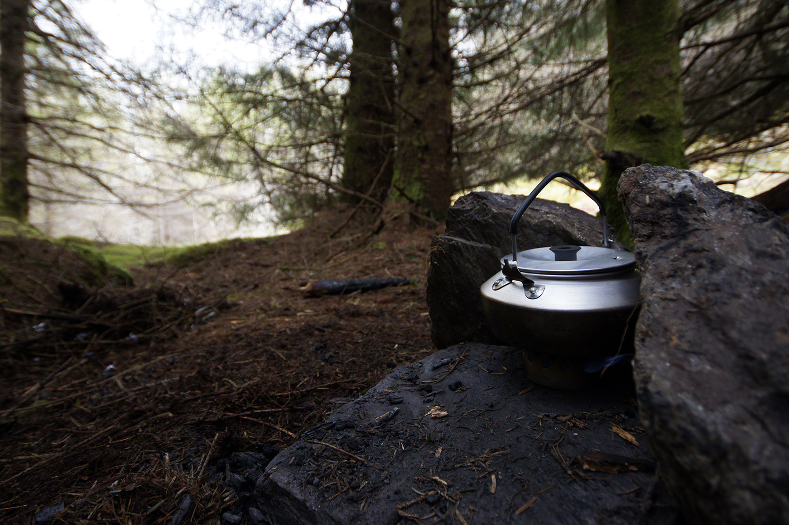 Kieran Rae West Highland Way Camping Kettle Scotland