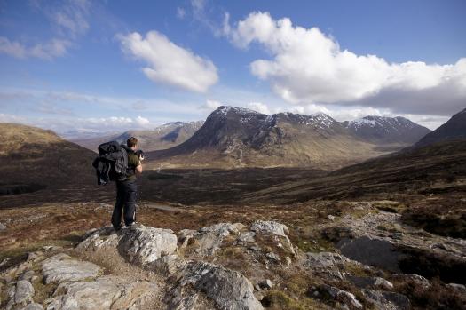 Kieran Rae West Highland Way Glen Coe Scotland Portrait