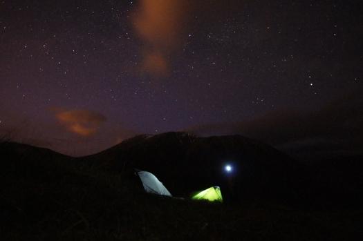 Kieran Rae Camping Night Stars Ben Nevis West Highland Way Scotland