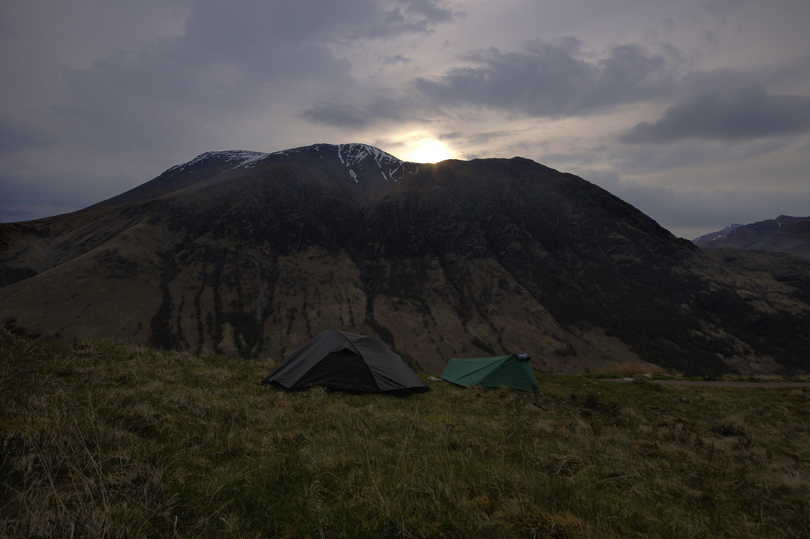 Kieran Rae West Highland Way Ben Nevis Sunset Scotland