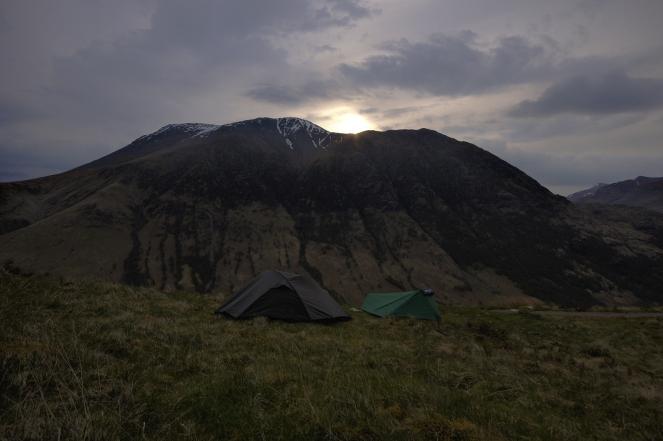 Kieran Rae West Highland Way Ben Nevis Sunset Scotland