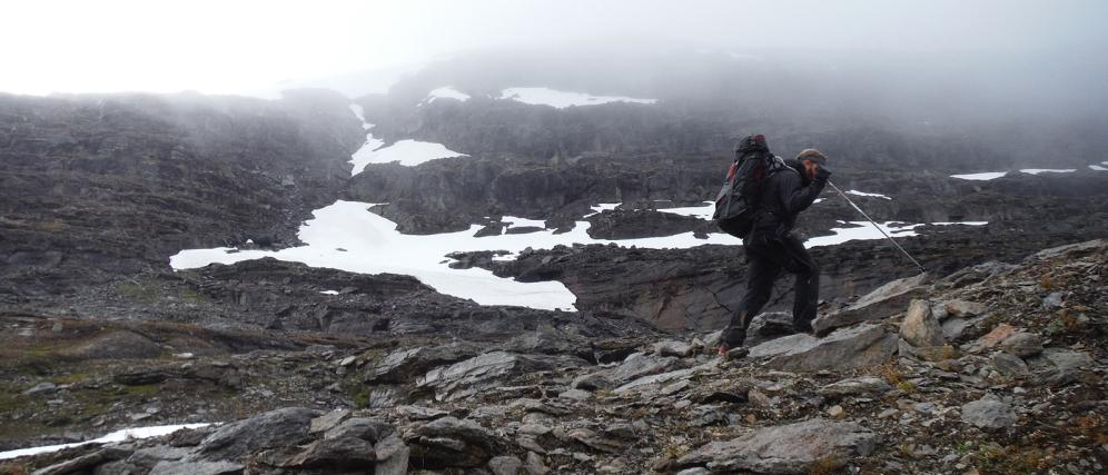 Kieran Rae Abisko Sweden Lapland Arctic Circle Hike Portrait