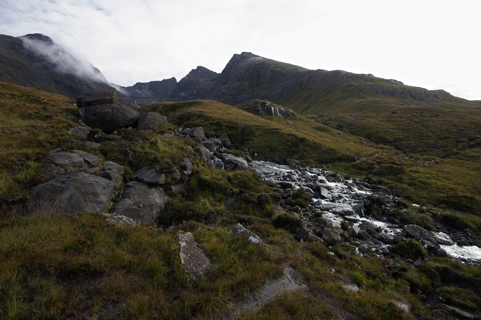 Kieran Rae Skye Black Cuillin Scotland Waterfall