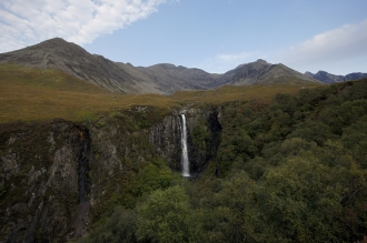 Kieran Rae Skye Black Cuillin Scotland Waterfall