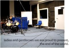 Kieran Rae Music Studio Recording Portrait
