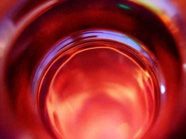 Kieran Rae Colour Circle Glass Art