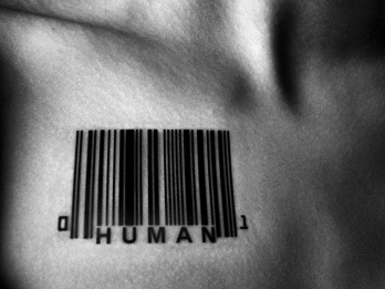 Kieran Rae Limbless Art Black White Abstract Human Form