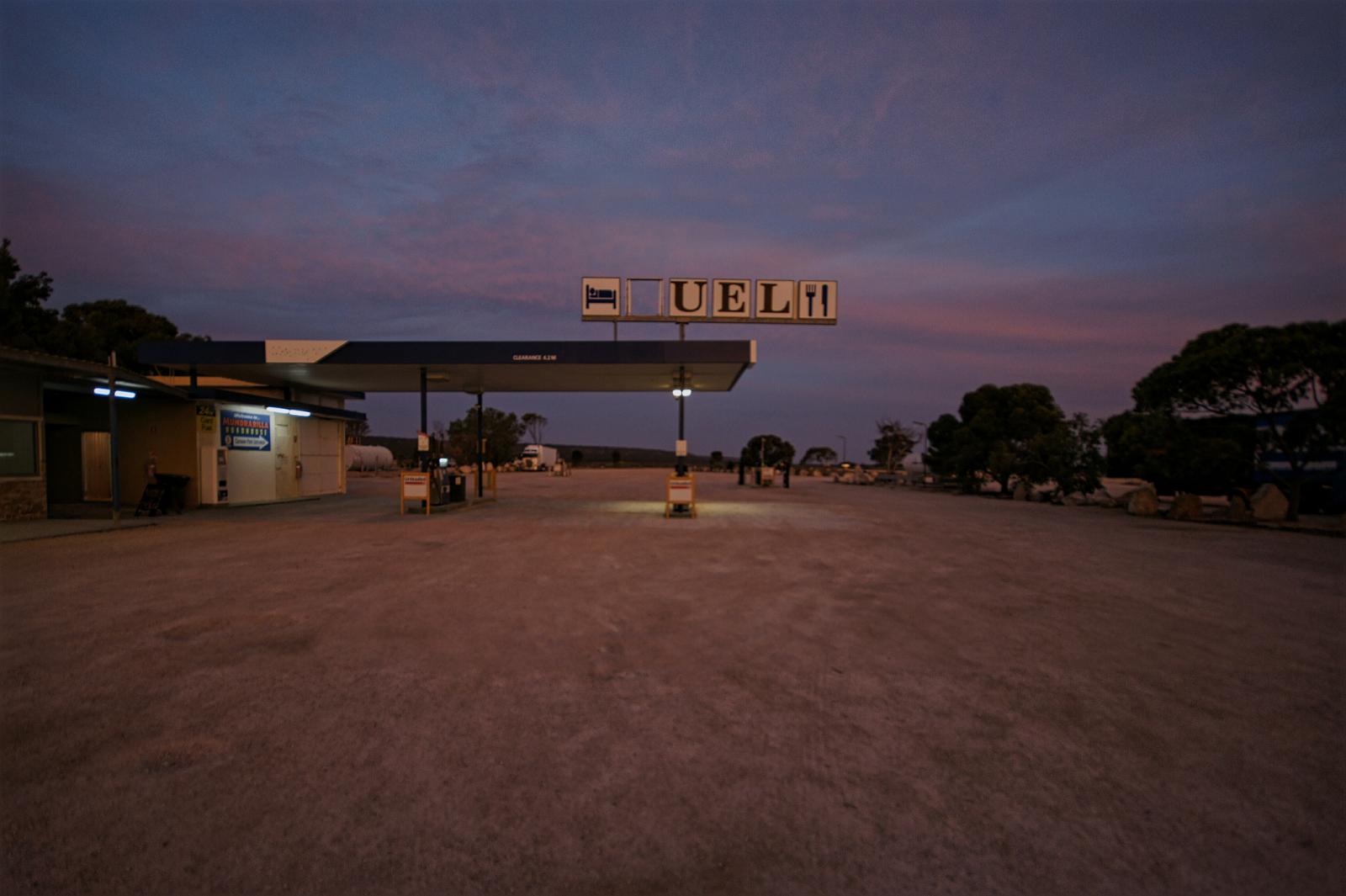 Kieran Rae Borderwalk Australia Outback Sunset