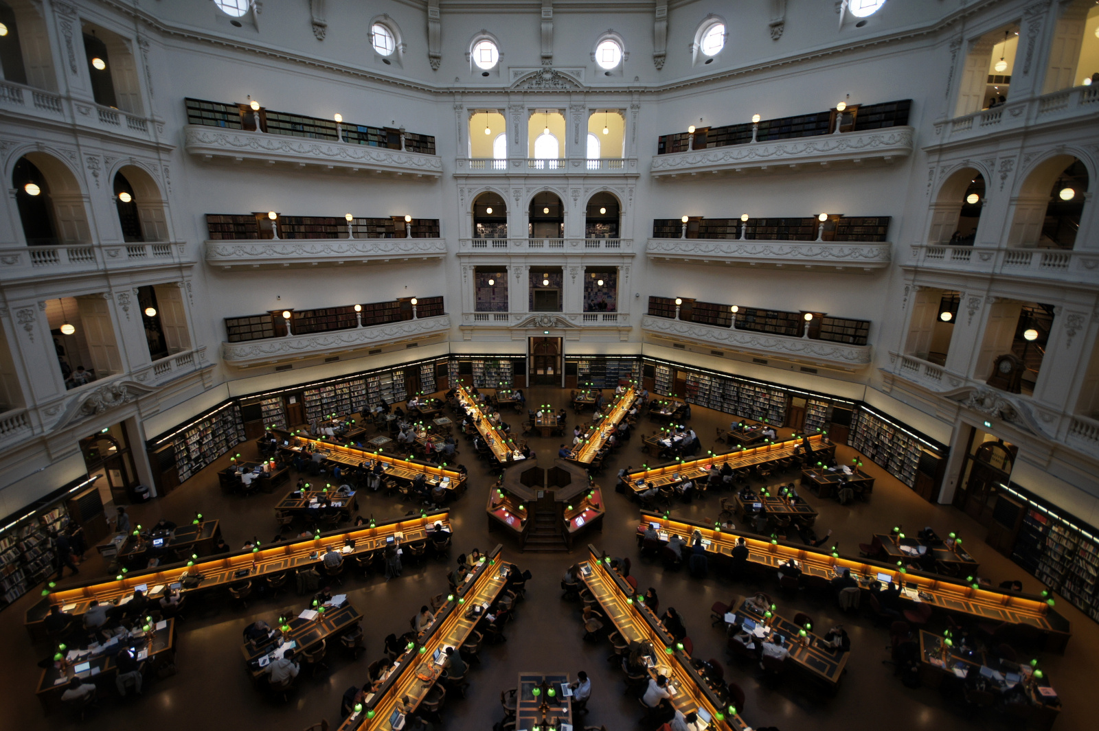 Kieran Rae Melbourne Australia State Library Victoria