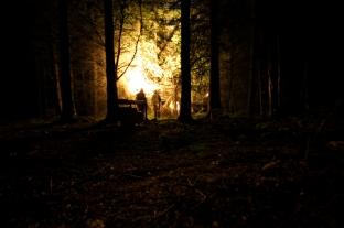 Kieran Rae Night Filming