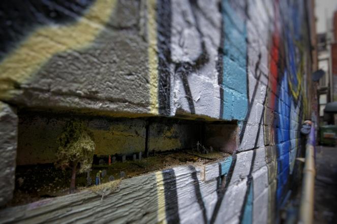 Kieran Rae Melbourne Australia Hosier Lane Street Art Graffiti Alley