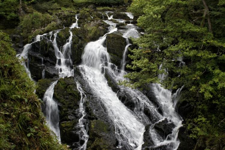 Kieran Rae Snowdonia Wales Swallow Falls Waterfall