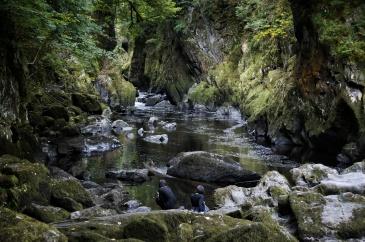 Kieran Rae Fairy Glen Wales River Gorge