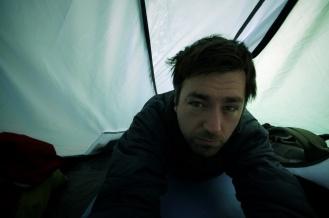 Kieran Rae Tent Camping Portrait