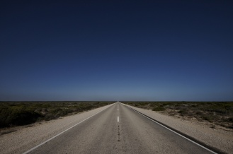 Kieran Rae Borderwalk Australia Outback Road