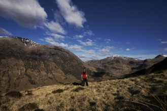 Kieran Rae Scotland West Highland Way Hike Ben Nevis Portrait