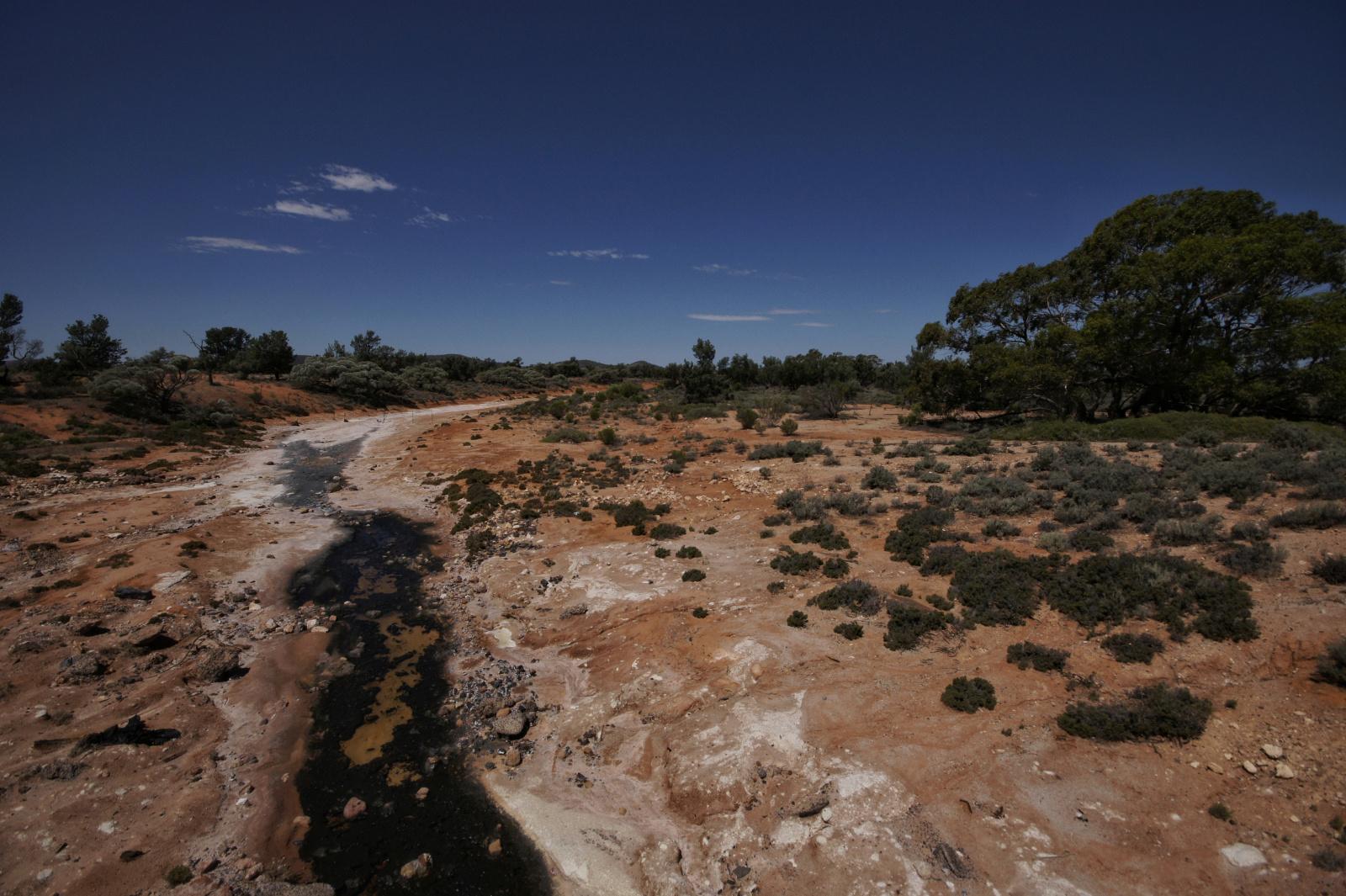 Kieran Rae Borderwalk Australia Outback River