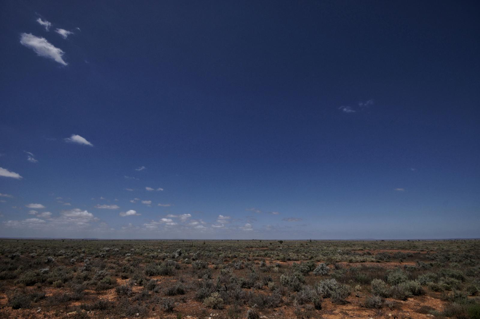Kieran Rae Borderwalk Australia Outback Desert Nullarbor