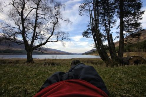 Kieran Rae Scotland East Highland Way Hike Loch an Eilein