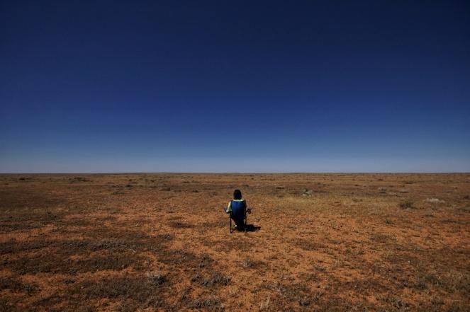 Kieran Rae Borderwalk Australia Outback Desert Portrait