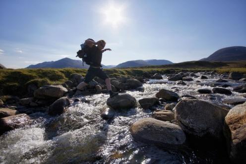 Kieran Rae Scotland East Highland Way Hike River