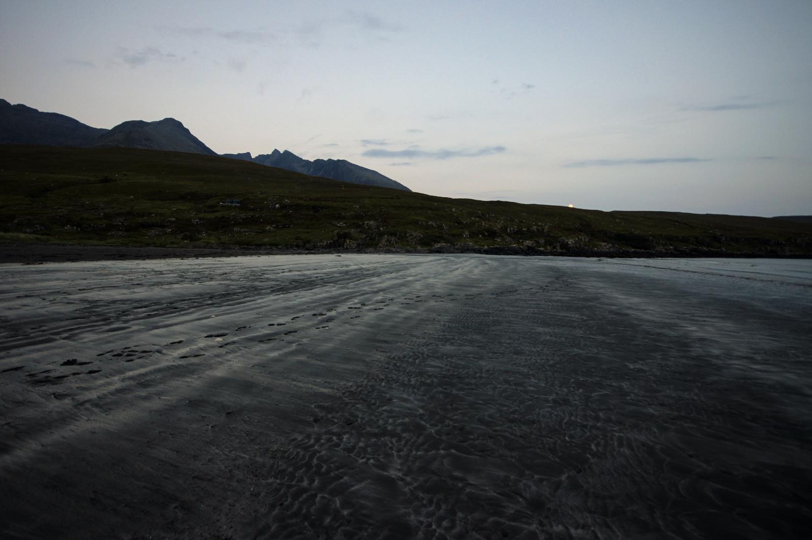Kieran Rae Skye Glenbrittle Campsite Beach Black Cuillin Scotland