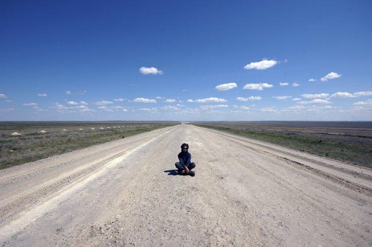 Kieran Rae Borderwalk Kazakhstan Kazakh Steppe Desert