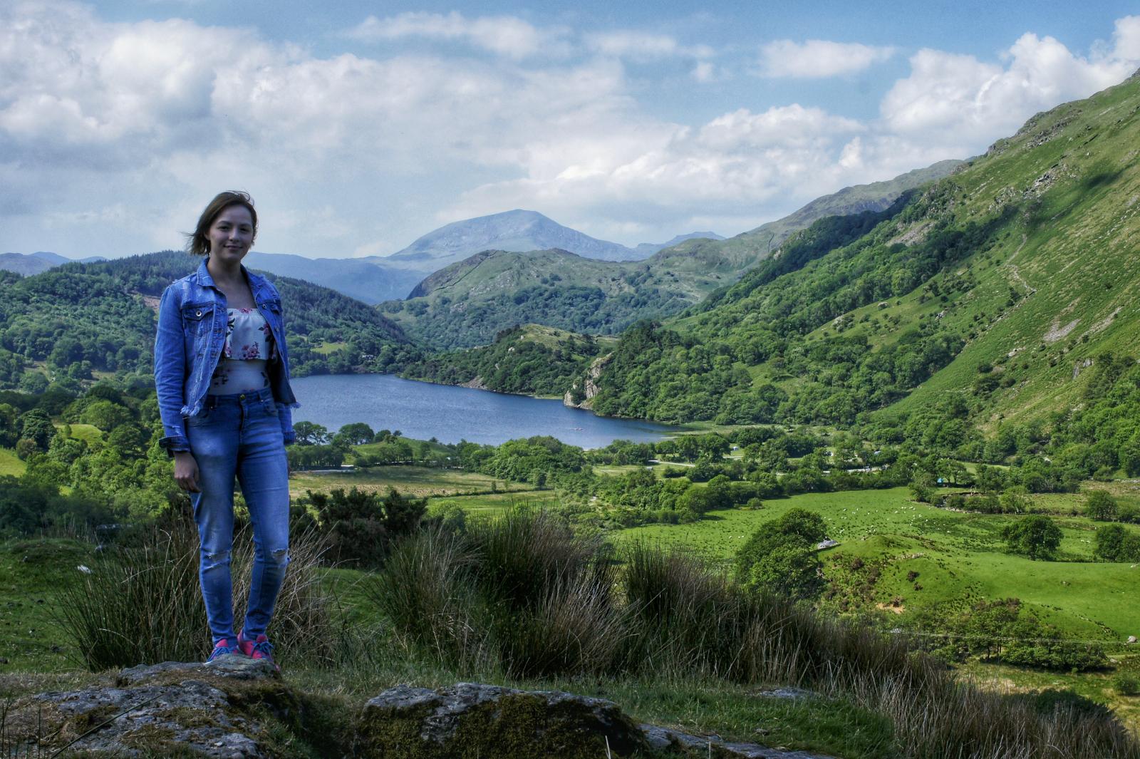 Kieran Rae Snowdon Snowdonia Wales Llyn Gwynant Model Portrait