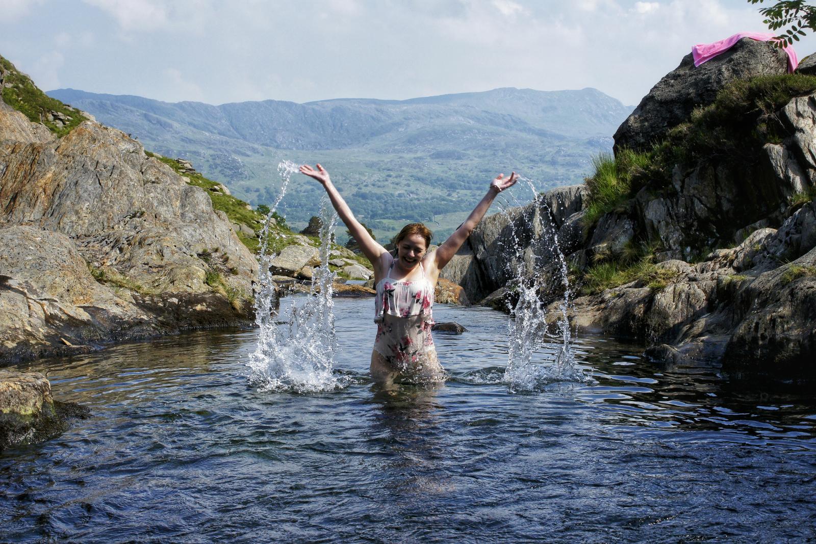 Kieran Rae Snowdon Snowdonia Wales Watkin Path Model Portrait