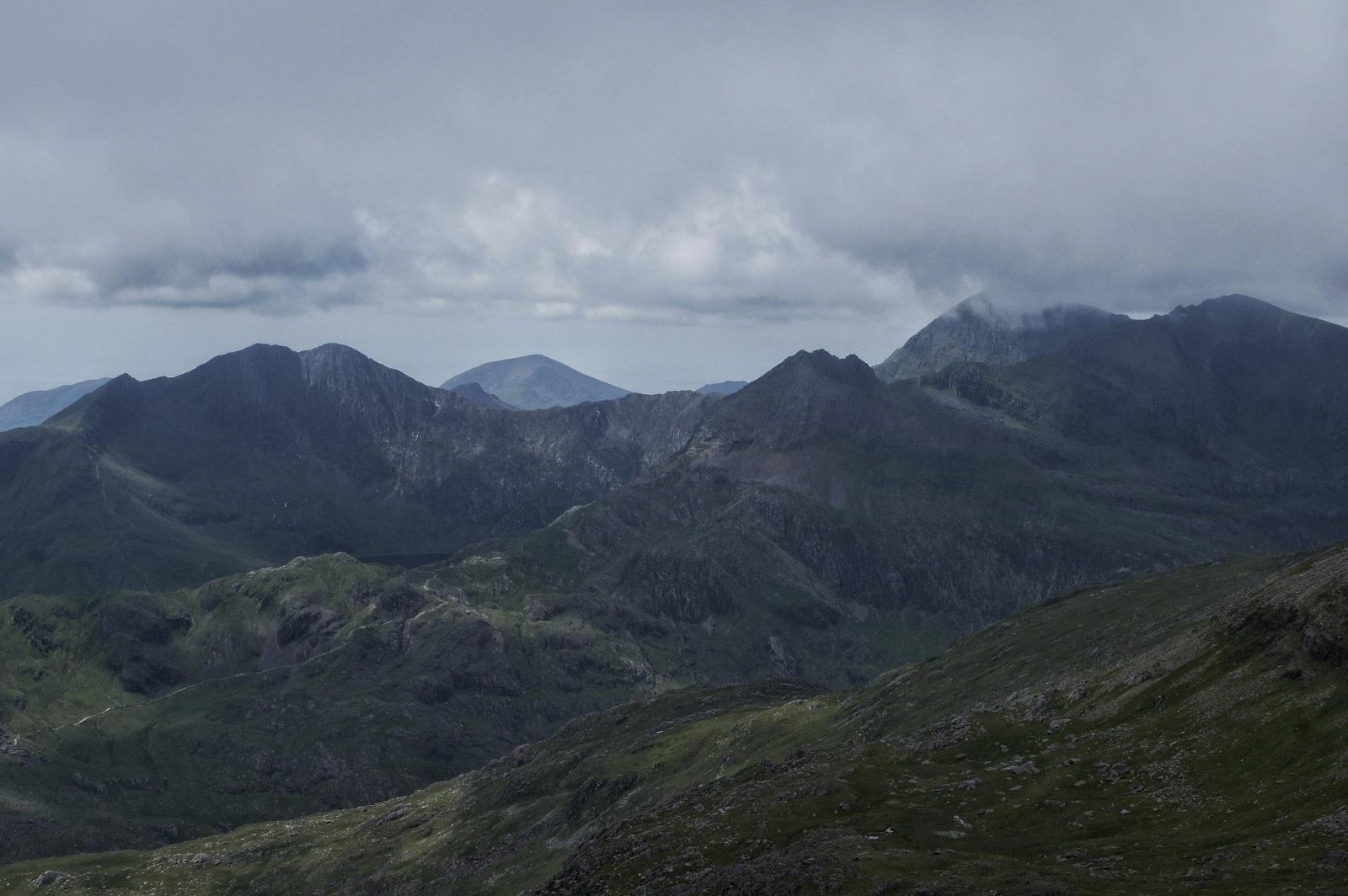 Kieran Rae Wales Snowdon Glyderau Glyder Snowdonia
