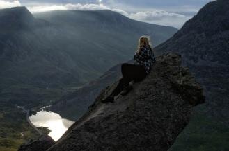 Kieran Rae Wales Tryfan Cannon Stone Glyderau Glyder Snowdonia