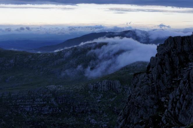 Kieran Rae Wales Tryfan Glyderau Glyder Snowdonia Sunset