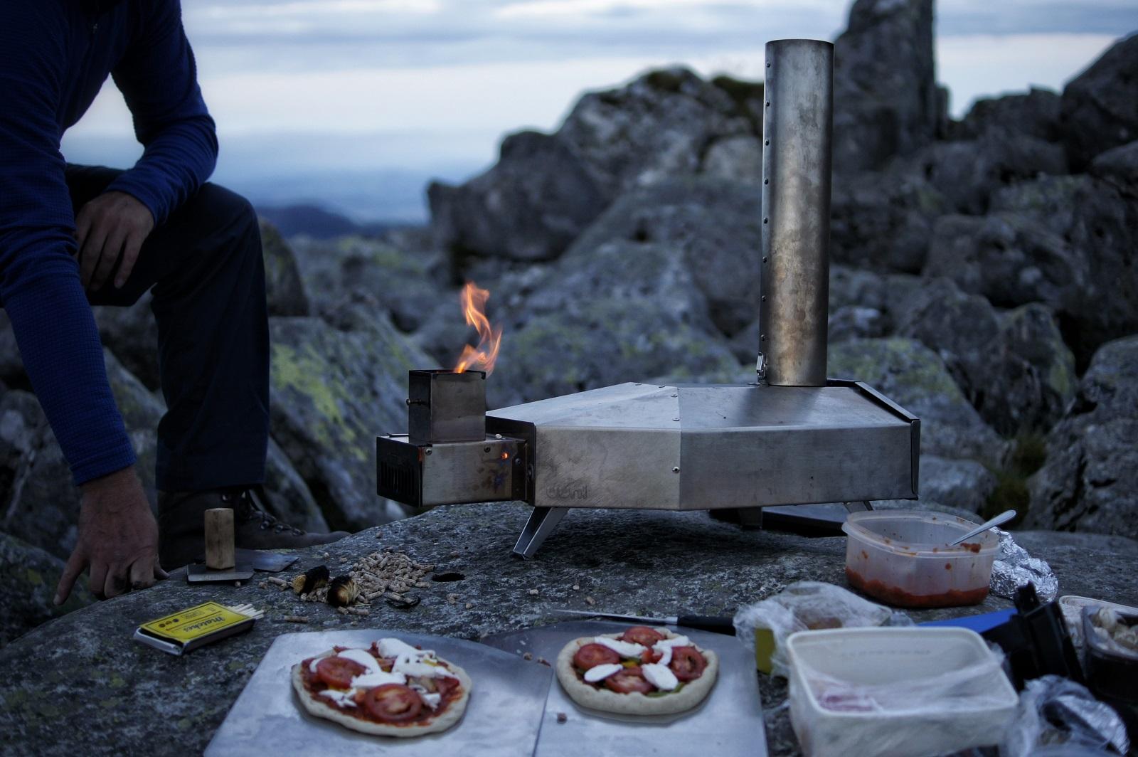 Kieran Rae Wales Tryfan Glyderau Glyder Snowdonia Pizza Oven