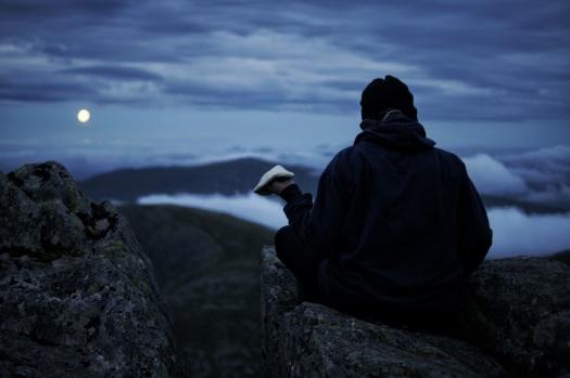 Kieran Rae Wales Tryfan Glyderau Glyder Snowdonia Sunset Model Portrait