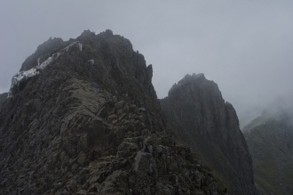 Kieran Rae Wales Crib Goch Ridge Snowdon Snowdonia