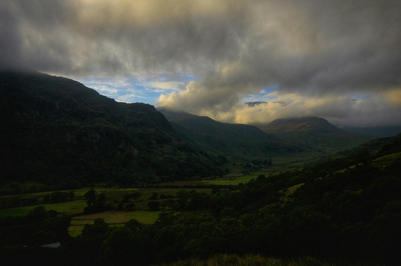 Kieran Rae Wales Snowdon Snowdonia Sunset