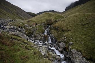 Kieran Rae Lake District England Scafell Pike Waterfall