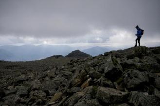 Kieran Rae Lake District Scafell Pike England Summit